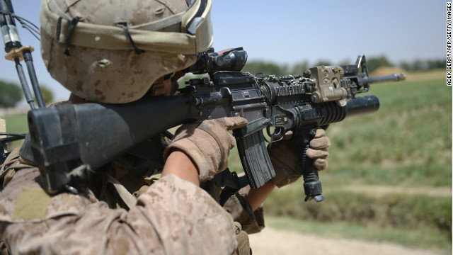 Desperate times: Marines told to &#039;save every round&#039;