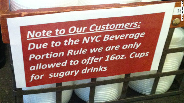Court halts New York City soda restrictions