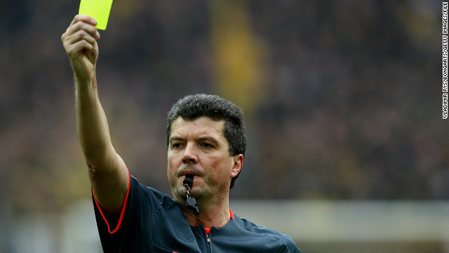 Herbert Fandel is a former referee who is now head of the German Football Federation's referee commission. He admits violence is one of the reasons why the number of officials in Germany is decreasing.