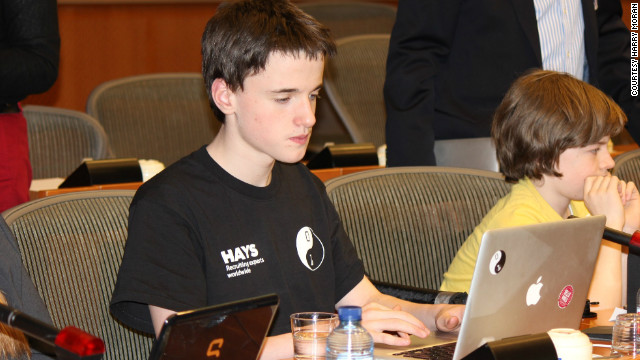 In keeping with the CoderDojo ethos, Moran (pictured) is already passing on his knowledge of coding to other members of the group. CoderDojo operates with only one rule, &quot;Above all, be cool&quot; -- meaning that bullying, lying and time-wasting are unacceptable.