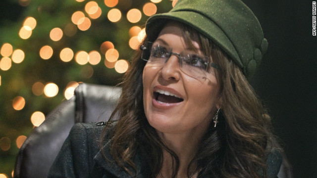 Sarah Palin is coming to town