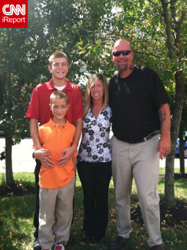 Drury, 43, and his wife Lori, 42, have two sons named Kori and Peyton, ages 18 and 10. Drury's family supports his new lifestyle and often participates in his dance fitness classes.