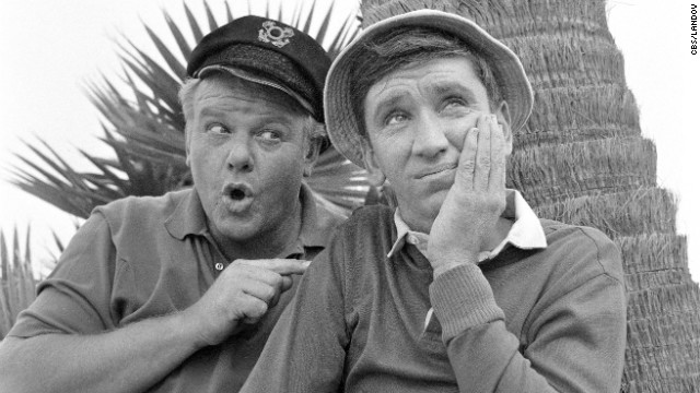 Gilligan (Bob Denver) was always there for his captain, the Skipper (Alan Hale Jr.), on &quot;Gilligan's Island.&quot; Despite occasionally conking his &quot;Little Buddy&quot; on the head, the Skipper remained friends with Gilligan to the end. 