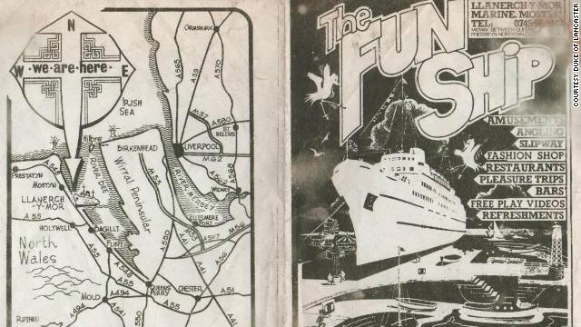 In 1980, the Funship opened, featuring a mall, cinema, game arcade, restaurant, nightclub and hotel rooms. The leisure center closed in 1985, after safety concerns from the local council.