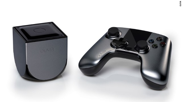 <strong>Ouya: $8.6 </strong><strong>million</strong><strong> pledged of $950,000 goal, 63,416 backers</strong> -- Ouya, which runs on Android, is a $99 gaming console that requires developers to offer a version of their games for free.