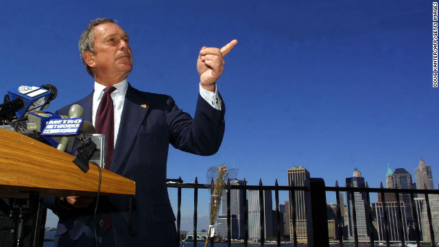 Mayor Michael Bloomberg\'s New York