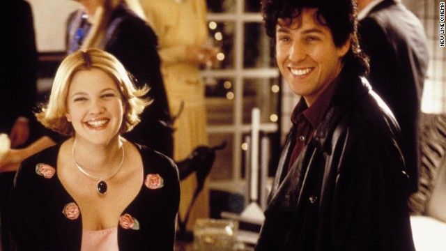 Drew Barrymore and Adam Sandler have starred in a few movies together including