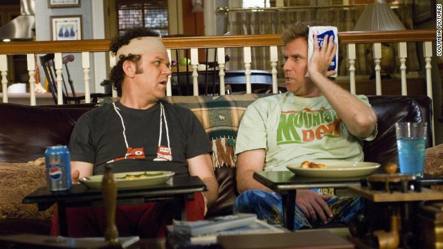 "After making audiences laugh as NASCAR drivers in 2006's ""Talladega Nights,"" Will Ferrell, right, and John C. Reilly joined forces for another Adam McKay-directed comedy, 2008's ""Step Brothers."""