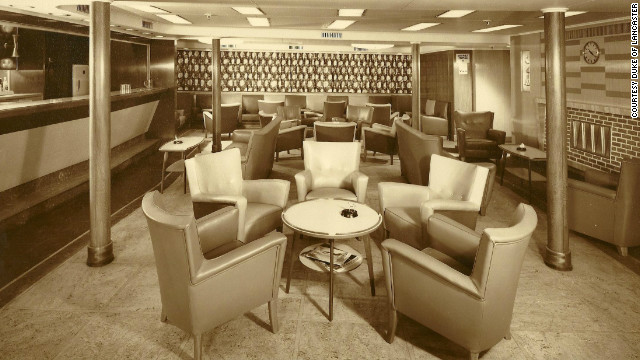 "The <i>Duke</i> boasted a silver service restaurant and spacious cabins. ""She was an opulent ship -- her fixtures and fittings were second to none,"" Williams said."