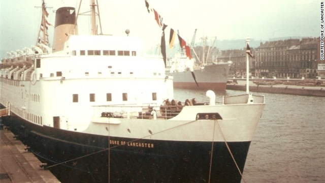 Before she was an open-air gallery, the <i>Duke of Lancaster</i> was a luxury passenger ferry. During the summer months she traveled the high seas as a cruise liner around western Europe, the Mediterranean and Scandinavia.