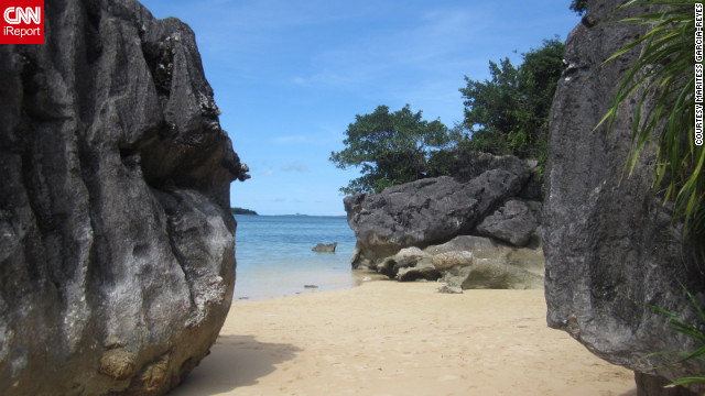 "The beautiful beaches of Caramoan have been a favorite of the ""Survivor"" franchise. Maritess Garcia-Reyes, who shot this photo, describes them as ""untouched and serene."""