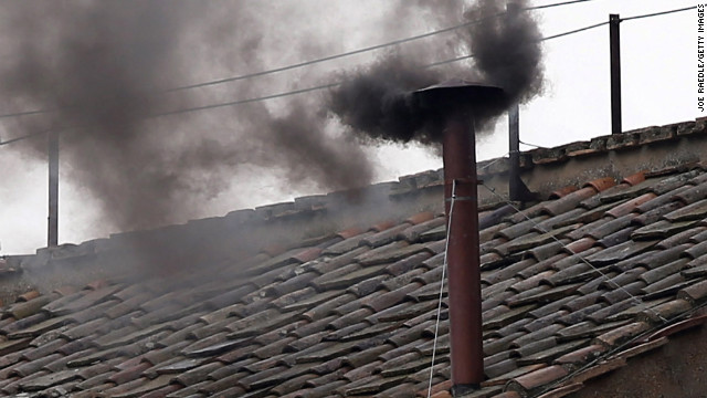 Black smoke after first votes on 2nd day of conclave to pick new pope