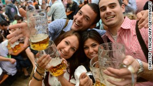 Oktoberfest, Bavaria\'s month-long answer to St. Patrick\'s Day.