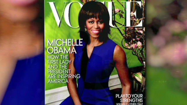 Michelle Obama's second 'Vogue' cover