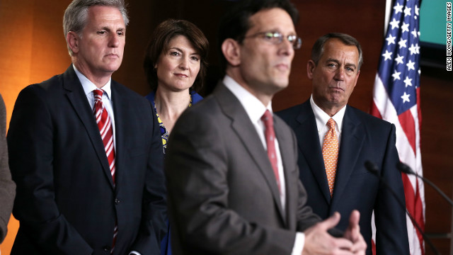 GOP-led House will kick off 2014 like it spent most of 2013