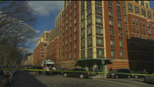 New York woman holding baby falls from 8th floor to her death
