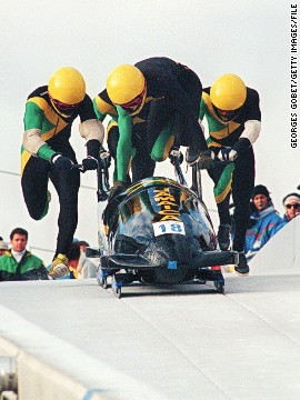 Williams first became interested in snow sports after watching Jamaica's bobsleigh team compete at the 1988 Games. The quartet became one of the stories of the competition after swapping their tropical Caribbean island for the slopes of Canada.