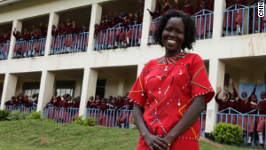 More than 150 Maasai girls are enrolled at the Kakenya Center for Excellence in Enoosaen, Kenya.