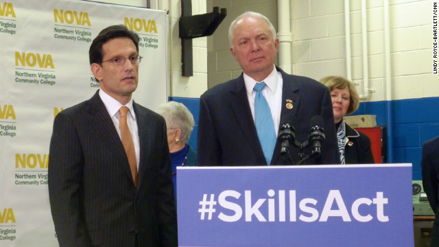 Job training bill sets up another Hill clash with White House