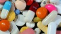 Picture taken on January 15, 2012 in Lille, northern France, of drug capsules.