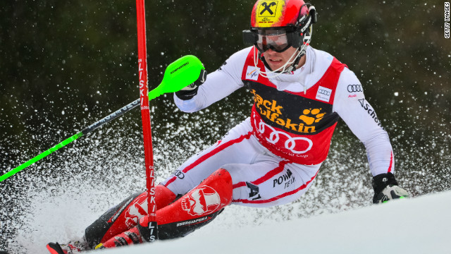 Marcel Hirscher, 24, is guaranteed a second overall World Cup in as many years after weather wiped out Thursday's action