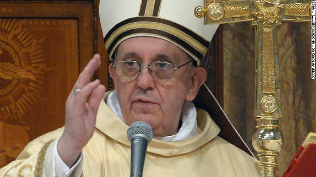 Vatican: Pope didn't perform exorcism