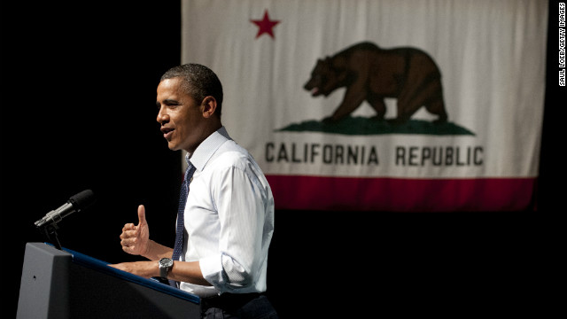 Obama headed to California for fundraisers