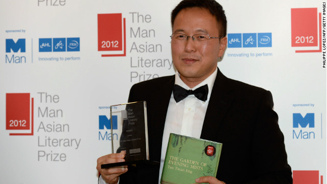 Tan Twan Eng won the $30,000 literary prize for his novel set in the aftermath of the Japanese occupation of Malaysia