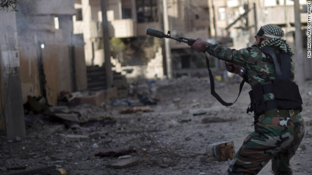 Congressman introduces bill supporting arming Syrian rebels