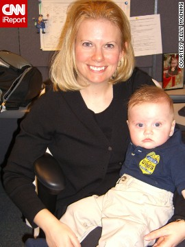 """I wish I would have taken as much time to consider the profession of motherhood as I did my other employment options,"" said <a href='http://ireport.cnn.com/docs/DOC-940753'>Kelly Moening</a>, a law-enforcement agent whose husband stays home with their three children."