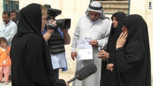 Arwa Damon interviewed women searching for missing loved ones in Baghdad during the war.