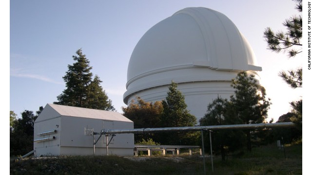 The Palomar Observatory in Southern California is the site of the telescope Schmidt used for his work.
