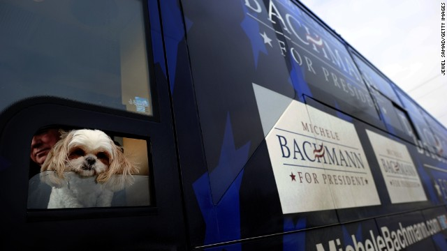 White House is no dog&#039;s life, Bachmann says