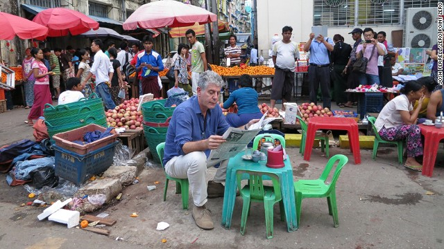 Anthony Bourdain: The world is filled with decent people