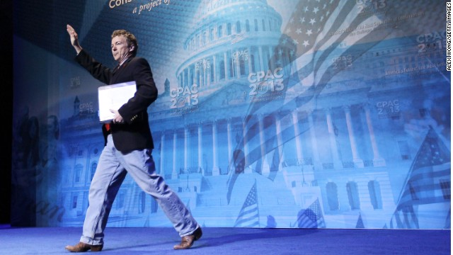 Rand Paul wins 2013 CPAC presidential straw poll