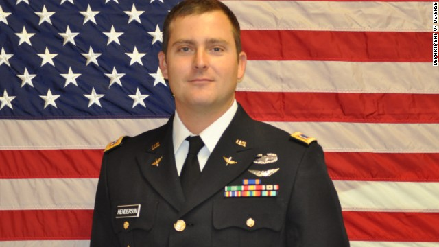 Chief Warrant Officer Bryan J. Henderson, 27, of Franklin, Louisiana.