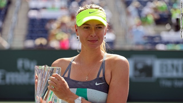 Sharapova has now won at least one title in each of the past 11 years. &quot;This is what I do all the work for is these moments,&quot; she told reporters. &quot;You feel like everything has paid off.&quot;