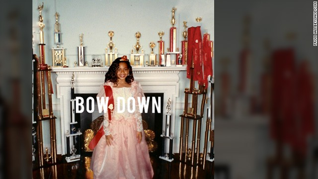 "In March, the singer reveled in her ""Queen Bey"" image with the song ""Bow Down."""