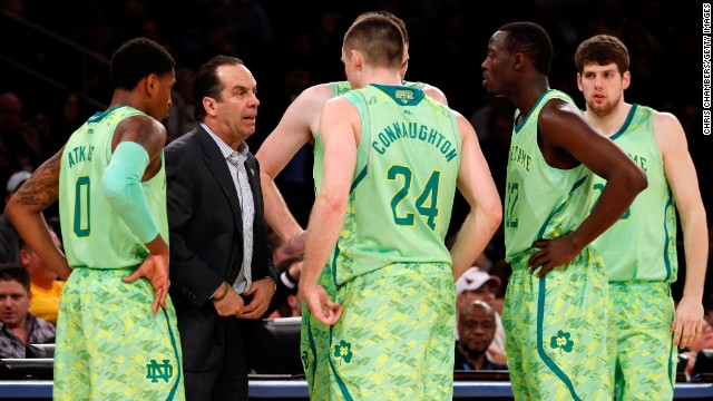 The Notre Dame Fighting Irish took the Going Green movement too far with the neon uniforms they debuted at the quarterfinals of the Big East Tournament. Here's a look at other team uniforms you might want to forget.