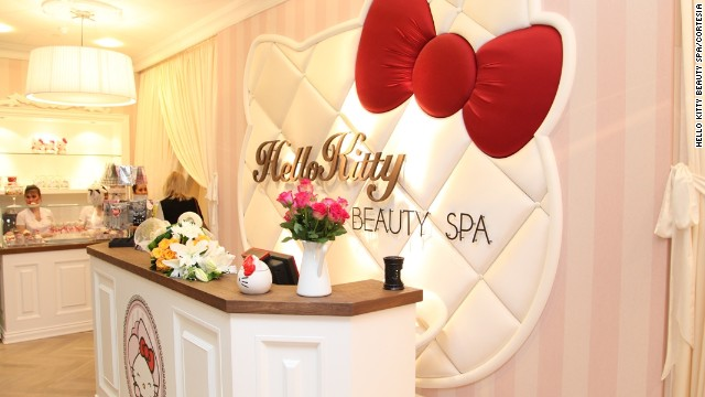 Un paseo por el spa de Hello Kitty en Dubai