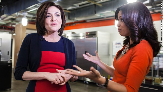 Behind-the-scenes: Facebook's Sheryl Sandberg