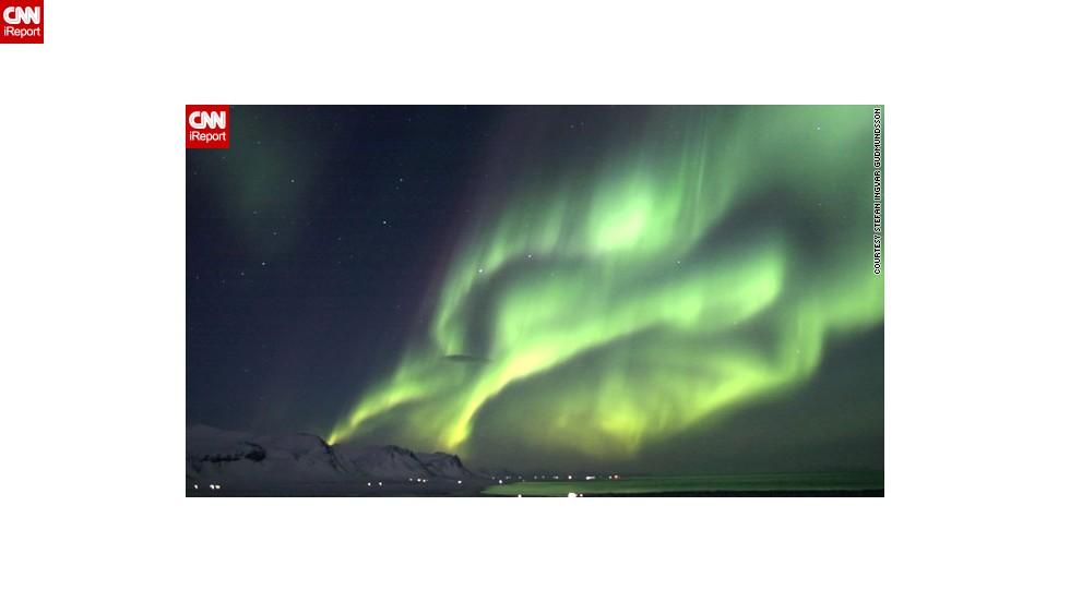 Espectaculares auroras captadas por iReporteros