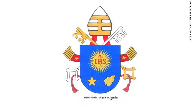 """""""Lo miró con misericordia y lo eligió"""", el lema del nuevo escudo papal"""