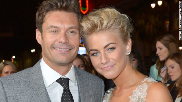 Julianne Hough and Ryan Seacrest have decided to take a break after more than two years together, <a href='http://www.people.com/people/article/0,,20682156,00.html' target='_blank'>People</a> reported. Sources told the magazine that the duo's busy schedules are to blame, but they plan to stay friends.