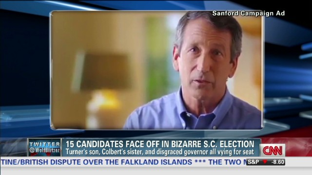 Sanford seeks 'redemption' in wild congressional race