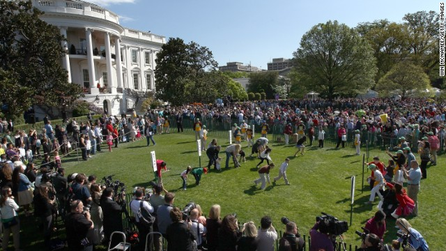 White House warns Easter Egg Roll could be canceled