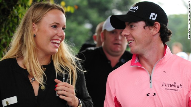 Both tennis player Caroline Wozniacki and golfer Rory McIlroy have been the top-ranked in their respective sports. McIlroy, seen as the apparent heir to Tiger Woods, has two major championships to his name and a $200 million sponsorship deal with Nike.