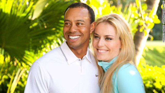 Woods and champion skier Lindsey Vonn announced <a href='http://marquee.blogs.cnn.com/2013/03/18/tiger-woods-confirms-hes-dating-lindsey-vonn/'>they were dating on Facebook</a> in March 2013. Vonn recently divorced Thomas Vonn, who was also her coach, and Woods split up with his wife, Elin Nordegren, in 2010.