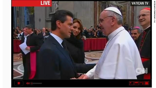 """El gobierno de Peña Nieto busca """"renovar"""" la relación con el Vaticano"""