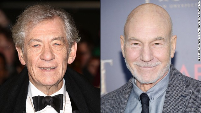 Ian McKellen to officiate Patrick Stewart's wedding